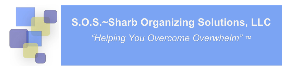 S.O.S. ~ Sharb Organizing Solutions, LLC