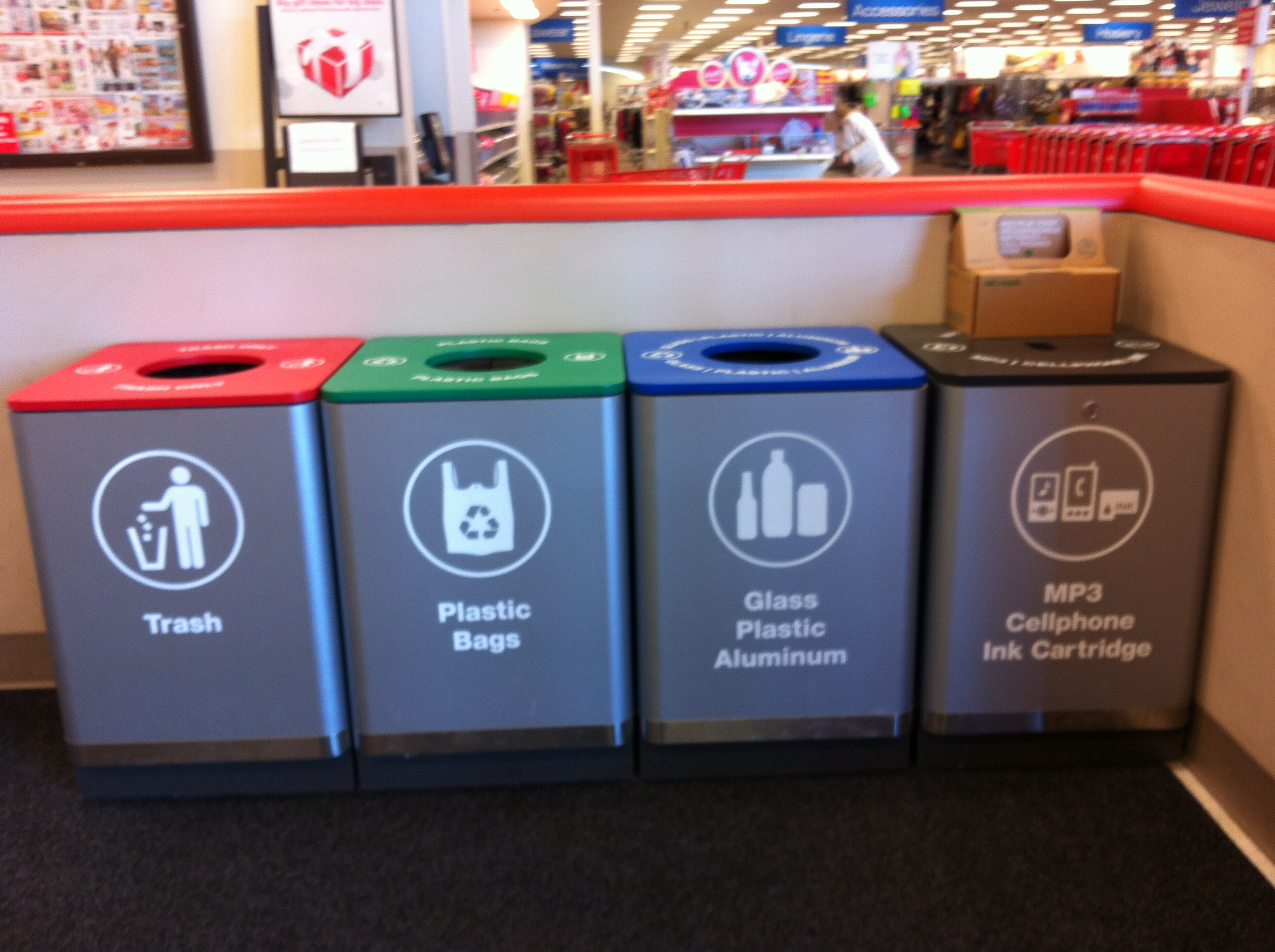 Home Depot Recycling Containers Amazing Find This Pin And More